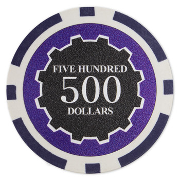 Roll of 25 - Eclipse 14 Gram Poker Chips - $500