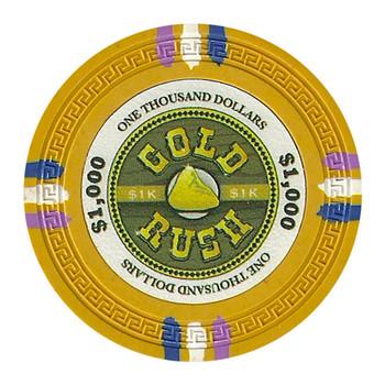 Roll of 25 - Gold Rush 13.5 Gram - $1000
