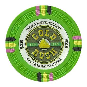 Roll of 25 - Gold Rush 13.5 Gram - $25