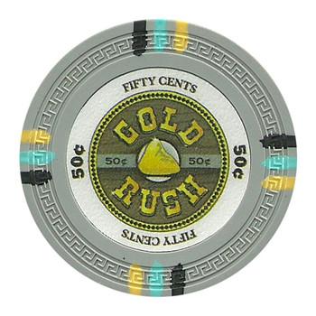 Roll of 25 - Gold Rush 13.5 Gram - .50¢ (cent)