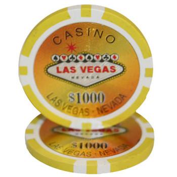 Roll of 25 - Las Vegas 14 gram - $1,000