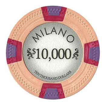 Roll of 25 - Milano 10 Gram Clay - $10000