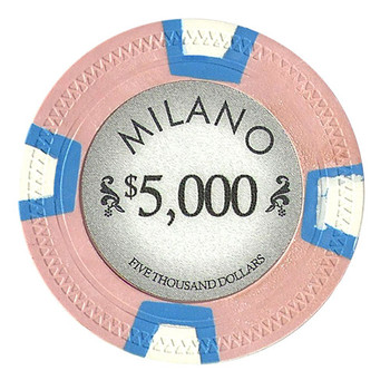 Roll of 25 - Milano 10 Gram Clay - $5000