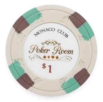 Monaco Club 13.5 Gram, $1, Roll of 25