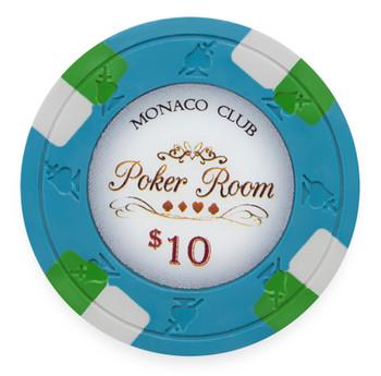 Monaco Club 13.5 Gram, $10, Roll of 25