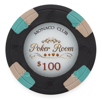 Monaco Club 13.5 Gram, $100, Roll of 25