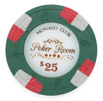 Monaco Club 13.5 Gram, $25, Roll of 25