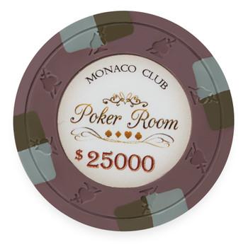 Monaco Club 13.5 Gram, $25,000, Roll of 25