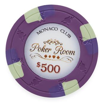 Monaco Club 13.5 Gram, $500, Roll of 25