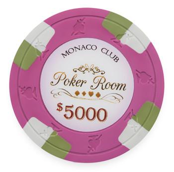 Monaco Club 13.5 Gram, $5,000, Roll of 25