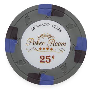 Monaco Club 13.5 Gram, $0.25, Roll of 25