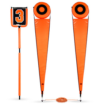 Football Down Marker and Chain Set