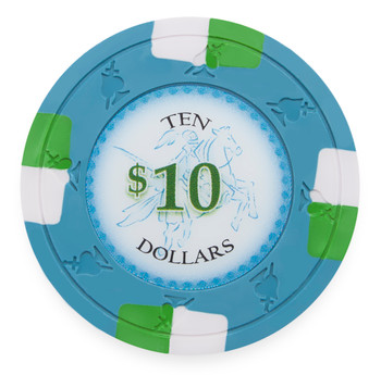 Poker Knights 13.5 Gram, $10, Roll of 25