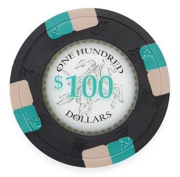 Poker Knights 13.5 Gram, $100, Roll of 25