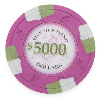 Poker Knights 13.5 Gram, $5,000, Roll of 25