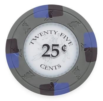 Poker Knights 13.5 Gram, $0.25, Roll of 25