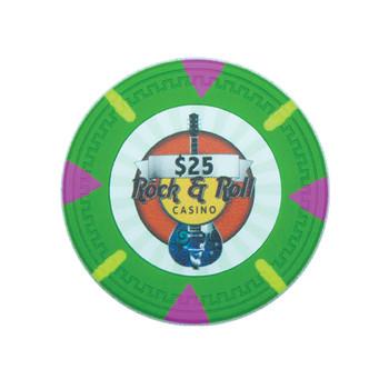 Roll of 25 - Rock & Roll 13.5 gram - $25