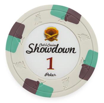 Showdown 13.5 Gram, $1, Roll of 25