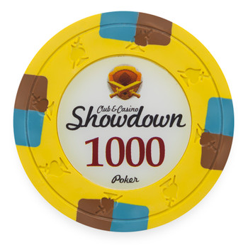 Showdown 13.5 Gram, $1,000, Roll of 25