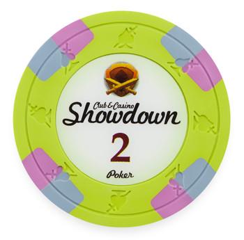 Showdown 13.5 Gram, $2, Roll of 25