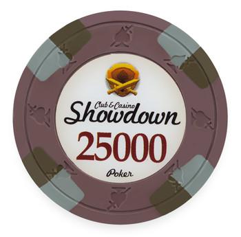 Showdown 13.5 Gram, $25,000, Roll of 25