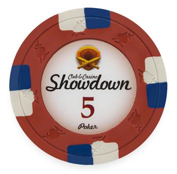 Showdown 13.5 Gram, $5, Roll of 25