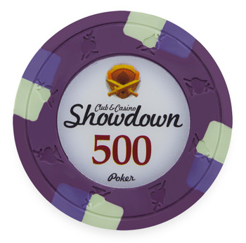 Showdown 13.5 Gram, $500, Roll of 25