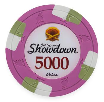 Showdown 13.5 Gram, $5,000, Roll of 25
