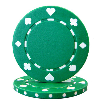 Roll of 25 - Suited 11.5 gram - Green
