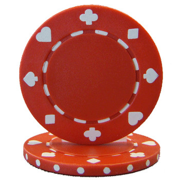 Roll of 25 - Suited 11.5 gram - Red