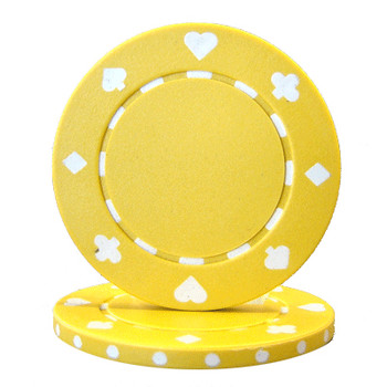 Roll of 25 - Suited 11.5 gram - Yellow