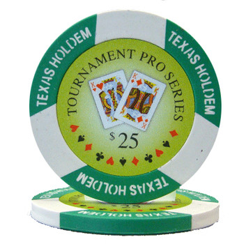 Roll of 25 - Tournament Pro 11.5 gram - $25
