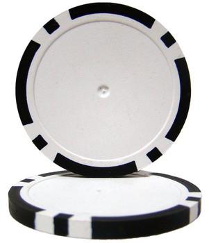 Black Blank Poker Chips - 14 Gram