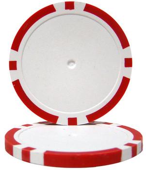 Red Blank Poker Chips - 14 Gram
