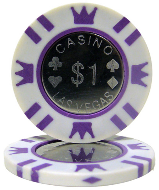 Coin Inlay 15 Gram - $1 Chip