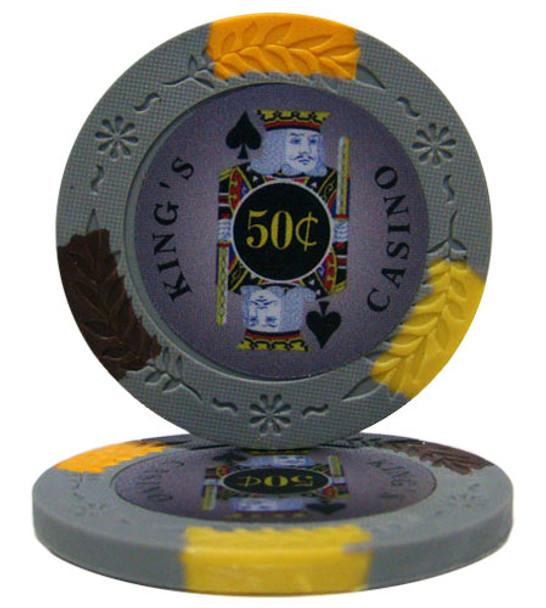 King's Casino 14 gram Pro Clay - .50¢ (cent)