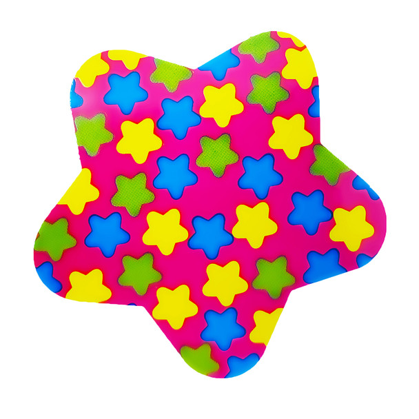 Funky Star Sticker with Mini Stars