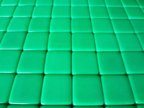16mm Blank Green Dice