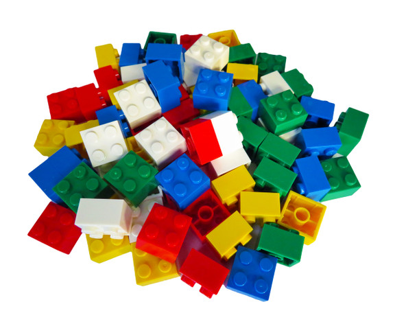Assorted 2 x 2 Building Bricks
