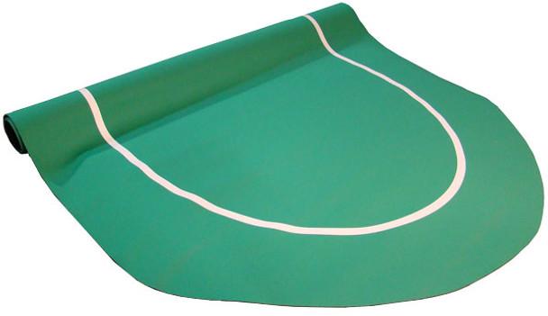 Sure Stick Rubber Foam Table Top - Green