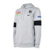 Collingwood Nike 2021 Mens Players Hoodie Wolf Grey