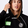 Collingwood AFLW 2021 Adults Piping Hoodie