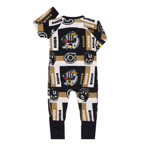 Collingwood 2020 Bonds Infants Wondersuit