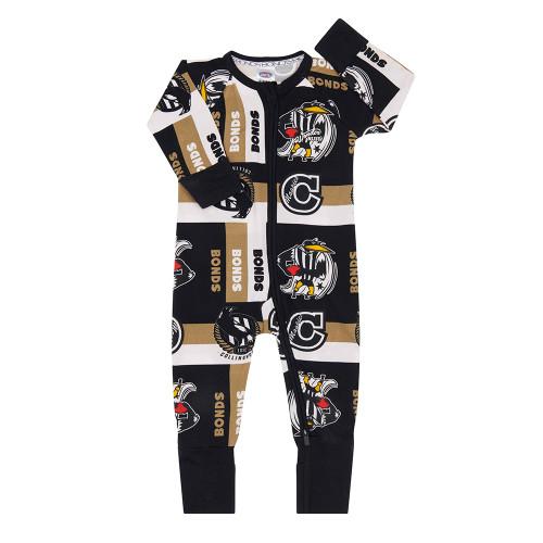 Collingwood 2020 Bonds Infants Wondersuit