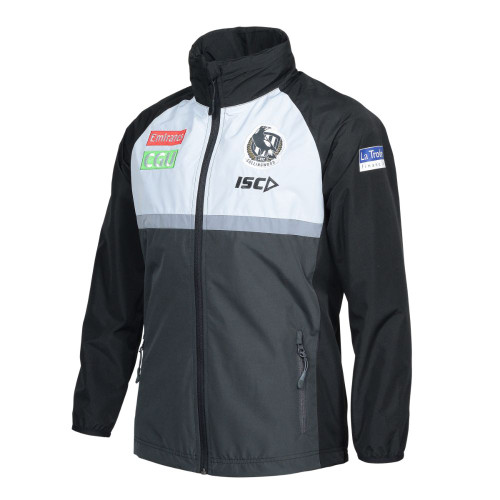Collingwood 2020 ISC Kids Wet Weather Jacket