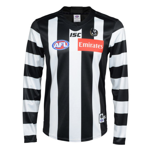 Collingwood 2020 ISC Mens LS Home Guernsey - 2010 Commemorative Edition