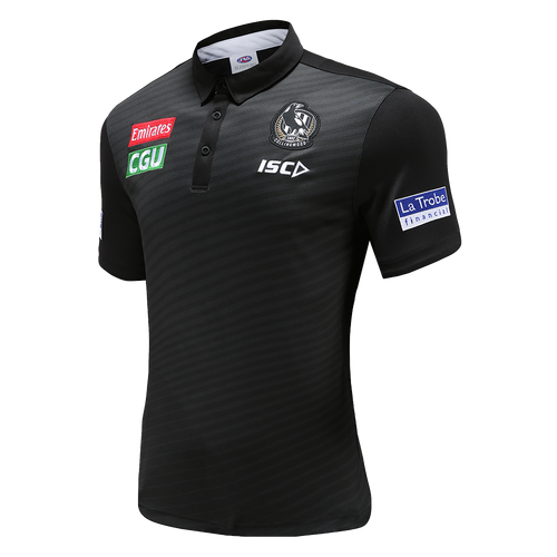 Collingwood 2020 ISC Mens Media Polo