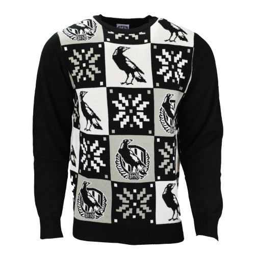 Collingwood Mens Ugly Sweater