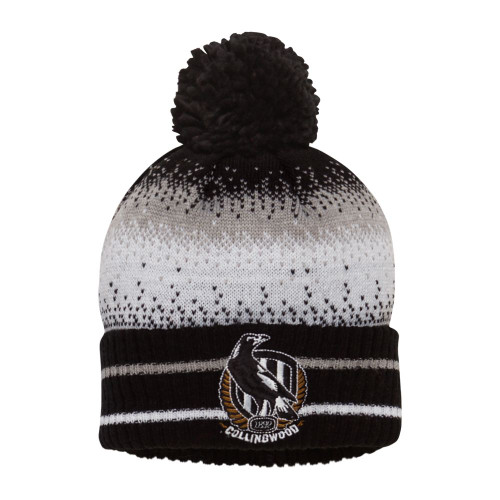 Collingwood Kids Supporter Beanie