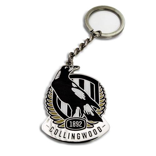 Collingwood Logo Keyring